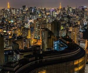 brazil, light, and night image