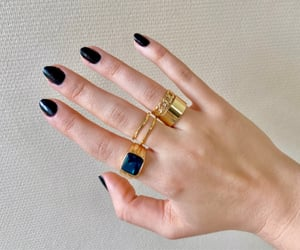aesthetic, bague, and bijoux image