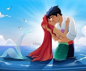 disney, disney princess, and mermaid image