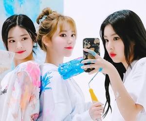 hyewon, miyawaki sakura, and kim minjoo image