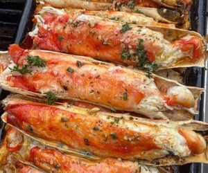 food porn, seafood, and tasty image