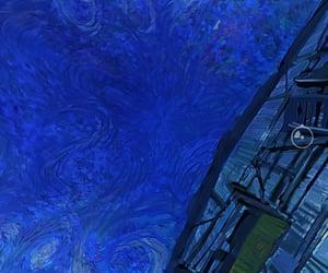 azul, cielo, and Noche image