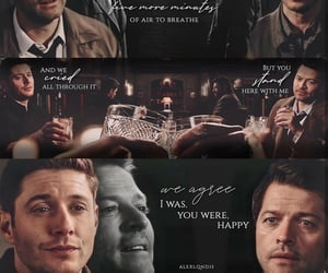 aesthetic, dean winchester, and Lyrics image