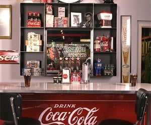 cocacola, old, and aesthetic image