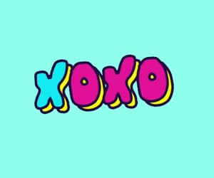 gif, words, and xoxo image