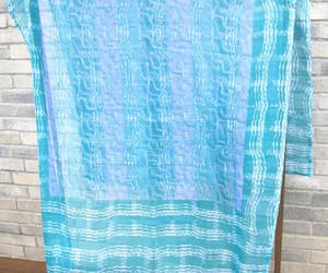 etsy, blue scarf, and turquoise blue image