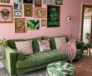 aesthetic, green, and home image