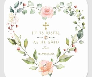 happy easter and he is risen image
