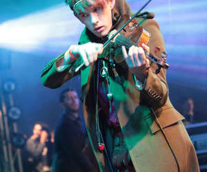 patrick wolf, musician, and violin image