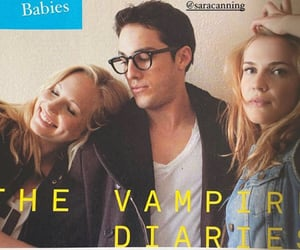 friendship, micheal trevino, and the vampire diaries image