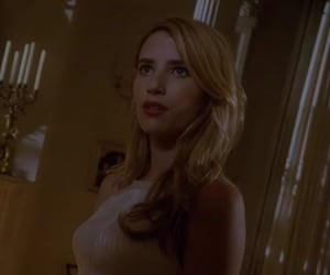emma roberts, madison montgomery, and american horror story image