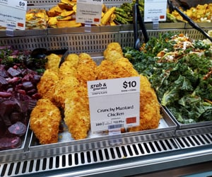 Chicken, food, and lunch image