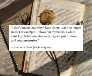 books, fashion, and quotes image