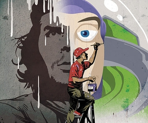 buzz lightyear and che image