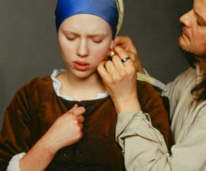 2003, Girl with a Pearl Earring, and johannes vermeer image