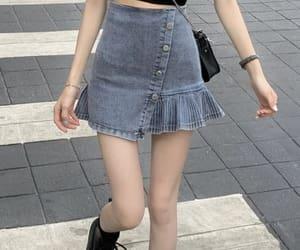 sexy skirt, grunge aesthetic, and grunge skirt image