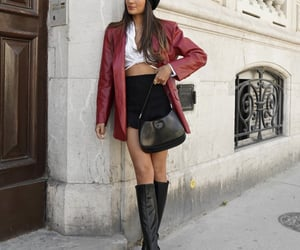 beret, blogger, and fashion image