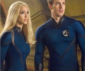 chris evans, Fantastic Four, and jessica alba image