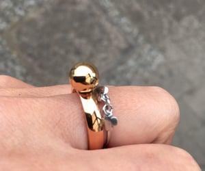 jewelry, melano, and ring image