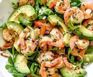 food, avocado, and lunch image
