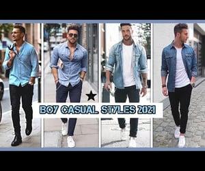 boys, fashion, and men fashion image