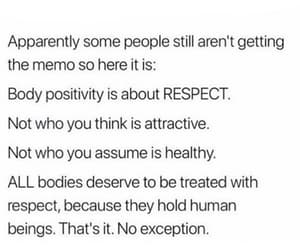 body, positivity, and quote image