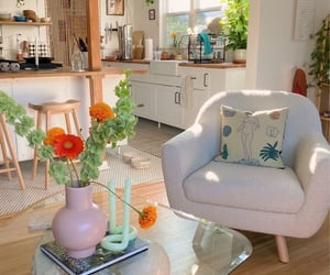 home, pastel, and furniture image