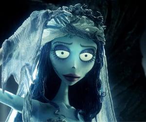 aesthetic, tim burton film, and corpse bride image