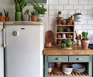 kitchen, vintage, and cute image