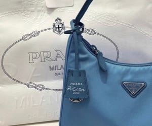 blue, Prada, and aesthetic image