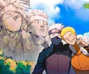 kakashi, naruto, and uzumaki image
