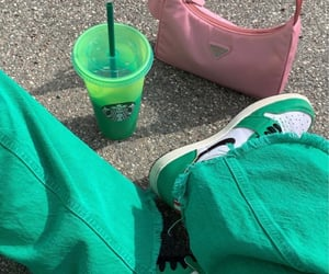 green and shoes image