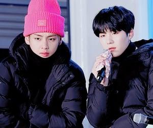 boys, jin, and yoontae image