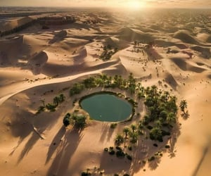 aerial photography, desert, and aerial view image
