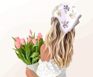 art, fancy, and flowers image
