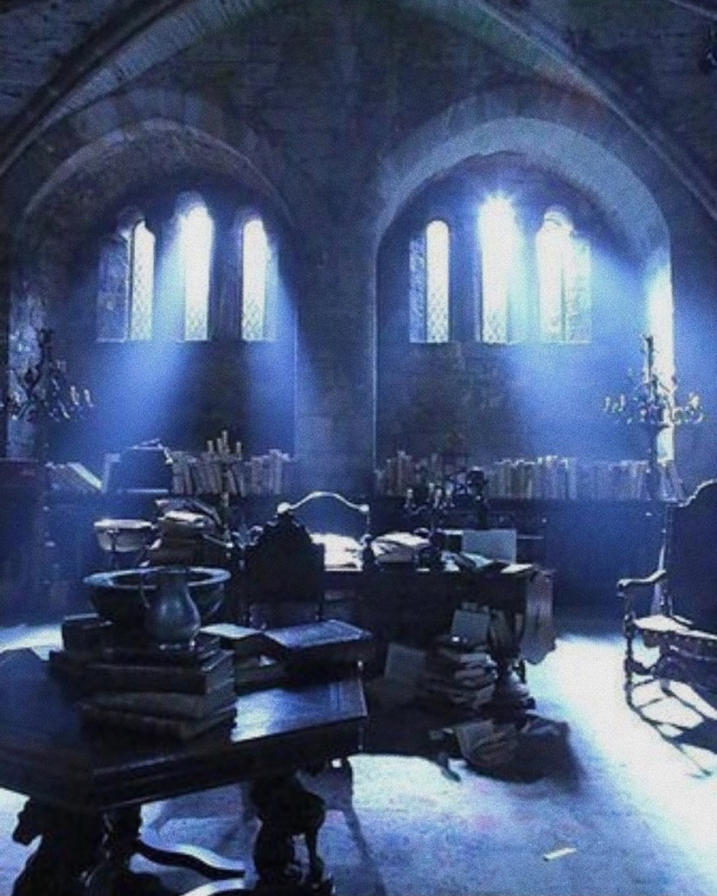 ravenclaw, blue, and aesthetic image