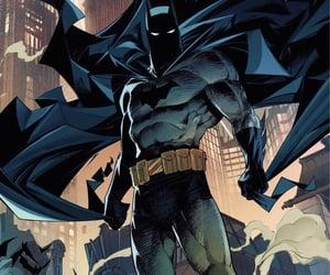 batman, Gotham, and bruce wayne image
