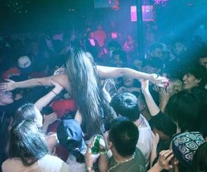 aesthetic, concert, and nightclub image