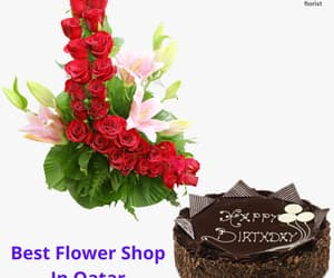 best flower shop in qatar and send flowers to doha image