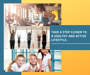 yoga, fitness club, and trampoline park image