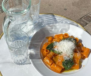 pasta and water image