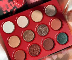 palette, eye makeup, and makeup image