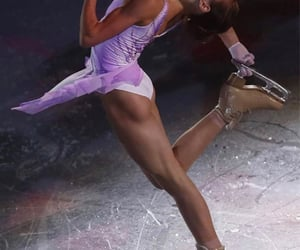 cool, figure skating, and fit image