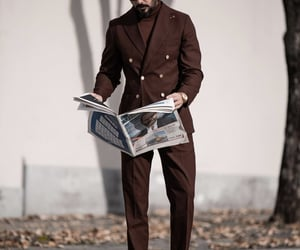 aesthetic, beards, and formal image