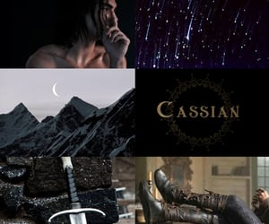 court of thorns and roses, cassian, and a court of silver flames image