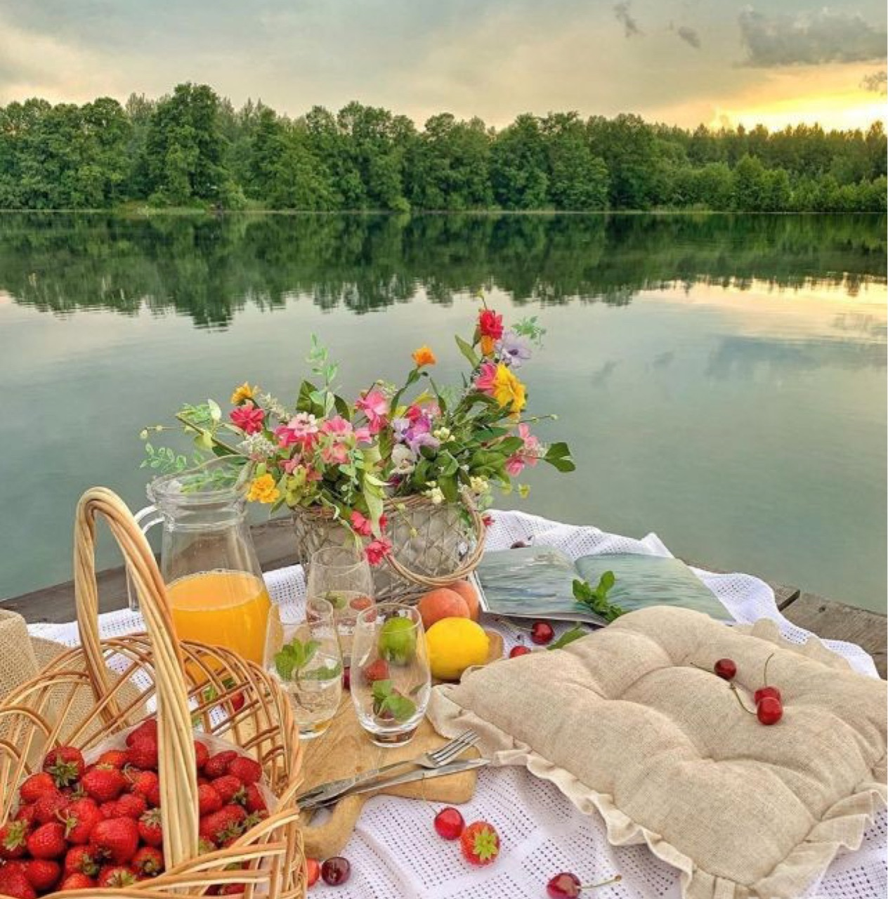 aesthetic, food, and nature image
