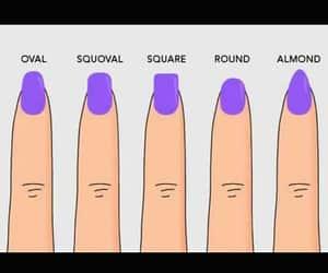 nail color, holiday nails, and love nails image