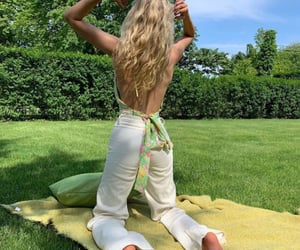 fashion, green, and nature image