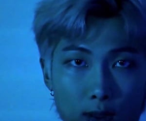 blue, kpop, and rm image