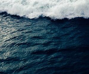 beauty, sky, and blue sea image